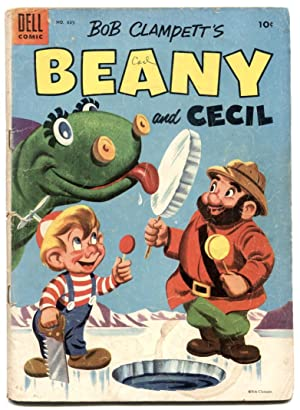 Beany and Cecil - Four Color Comics #635 1954 G