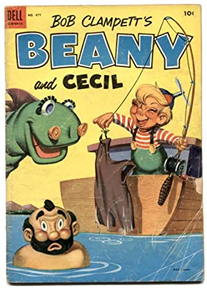 Beany and Cecil - Four Color Comics #477 1953 P