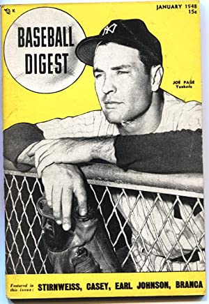 BASEBALL DIGEST-1948 JAN-YOGI BERRA-JOE PAGE-NY YANKEES---MLB