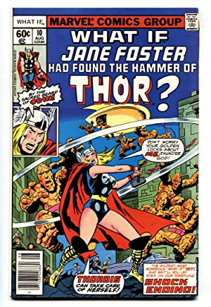 What If #10-1978-JANE FOSTER BECOMES THOR - Marvel
