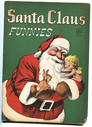 SANTA CLAUS FUNNIES #128 1946-DELL-FOUR COLOR-VG-