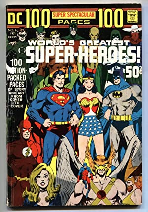 DC 100-Page Super Spectacular #6 1971- Worlds Greatest Super-Heroes- Adams VG+