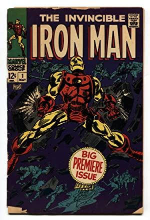 Iron Man #1 1968 Marvel Silver Age- First issue