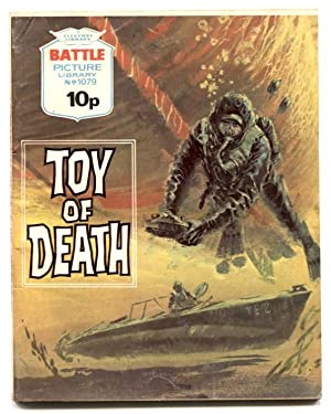 Battle Picture Library #1079 1977- TOY OF DEATH- British comic VG/F