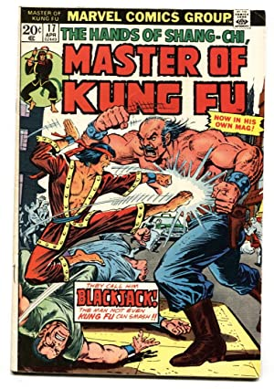 Master of Kung Fu #17-1974 comic book-Blackjack issue VF-