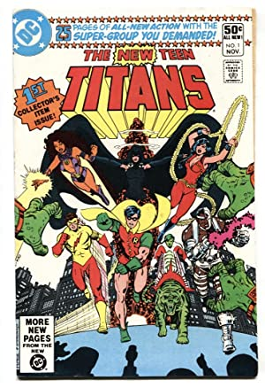 The New Teen Titans #1 First issue comic book-1980 George Perez VF/NM
