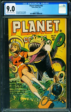 Planet #42 CGC 9.0 1946-Fiction House-Good Girl art-Golden-Age 1253225002