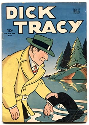 Dick Tracy- Four Color Comics #56 1944- VG-