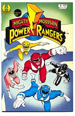 Saban's Mighty Morphin Power Rangers #1-1994-1st issue-comic book