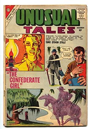 Unusual Tales #25 1960- DITKO cover- CONFEDERATE GIRL story!