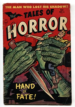 Tales of Horror #5 1953- pre-code horror- Hand of Fate- Precode G