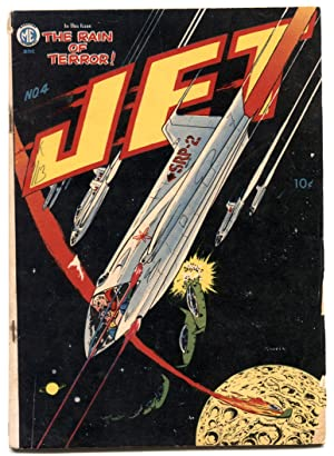 Jet #4 1951- Golden Age comic- Napalm- Atomic bombs VG-