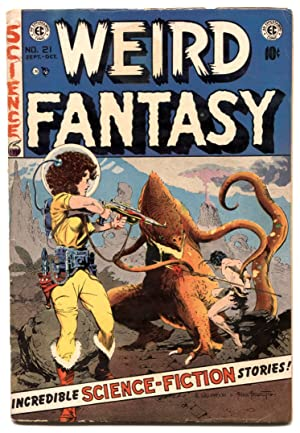 WEIRD FANTASY #21 Frank Frazetta cover EC GOLDEN AGE VG-