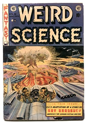 Weird Science #18 1953- Bradbury- EC COMICS- Wood Cover G