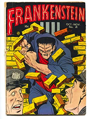 FRANKENSTEIN #21-ICONIC CVR-DICK BRIEFER--PRE-CODE HORROR