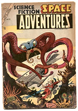 Space Adventures #11 1954- STEVE DITKO COVER- incomplete