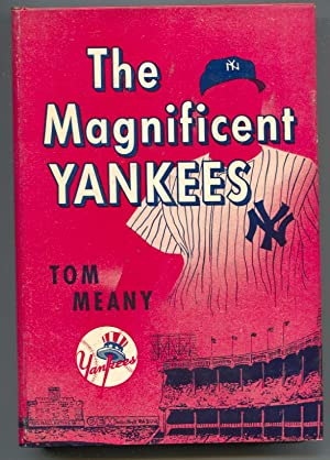 Magnificent Yankees 1956-by Tom Meany-1st ed-hard cover w/ dust jacket-baseball history-VF