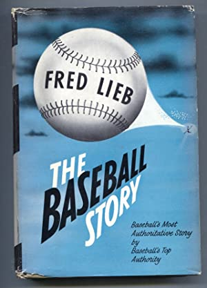 Baseball Story 1950-Fred Lieb-1st edition-hard cover w/ dust jacket-baseball history-VG/FN