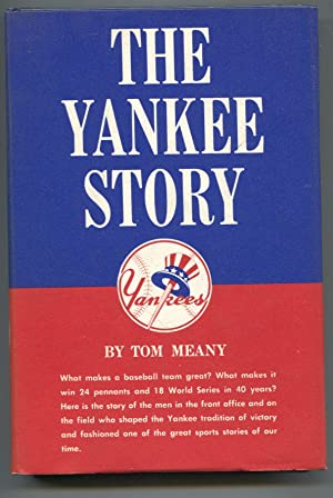 Yankee Story 1960-by Tom Meany-1st ed-hard cover w/ dust jacket-baseball history-VF