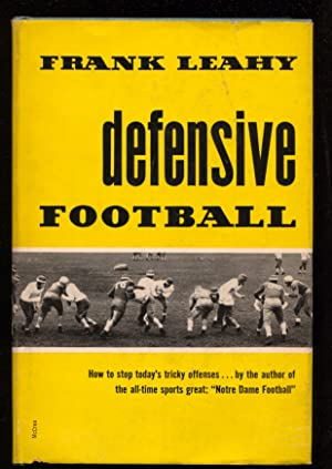 Defensive Football by Frank Leahy-hard cover w/ dust jacket-1st ed.football history-Notre Dame-FN