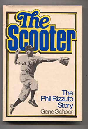 Scooter by Gene Schoor-baseball history-hard cover w/ dust jacket-1st Ed.-Phil Rizzuto story-VF