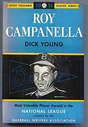Most Valuable Player Series- 1952-hard cover with dust jacket-Roy Campanella-Willard Mullin art-FN-
