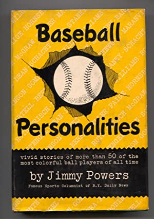 Baseball Personalities 1949-baseball history-hard cover w/ dust jacket-Satchel Paige-Dizzy Dean-F...