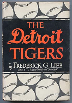 Detroit Tigers 1947-Fred Lieb-1st edition-hard cover w/ dust jacket-baseball history-VG/FN