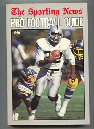 Pro Football Guide 1986-Sporting News-Team and player info, stats, rosters and more-high grade-VF
