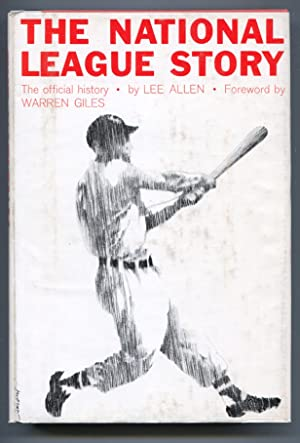National League Story 1962-by Lee Allen-baseball history-hard cover w/ dust jacket-FN
