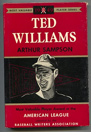 Ted Williams 1950-by Arthur Sampson MVP series-1st ed-hard cover w/ dust jacket-baseball history-VF