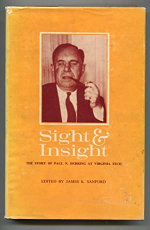 Sight & Insight 1969-1st edition-by James K Sanford-hard cover w/ dust jacket-football history-Pa...