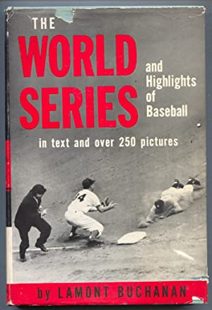 World Series and Highlights of Baseball 1951-hard cover w/ dust jacket-Lamont Bichanan-250 + pix-VG