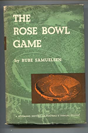 Rose Bowl Game 1952-1st ed.-by Rube Samuelson-revealing football history of annual classic-FN