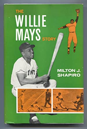 Willie Mays Story 1960-by Milton Shappiro-baseball history-hard cover w/ dust jacket-FN