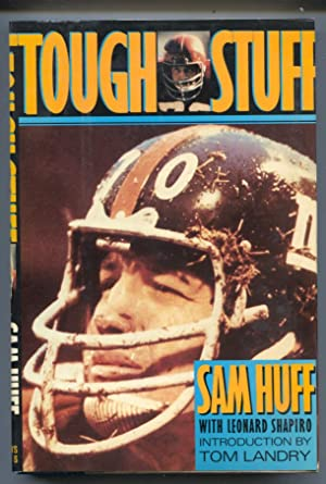 Tough Stuff 1988-Sam Huff-Man In The Middle-football history-hard cover w/ dust jacket-1st ed.-VF/NM