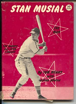 Stan Musial The Man 1951-by Tom Meany-hard cover, no dust jacket-action pix-VG