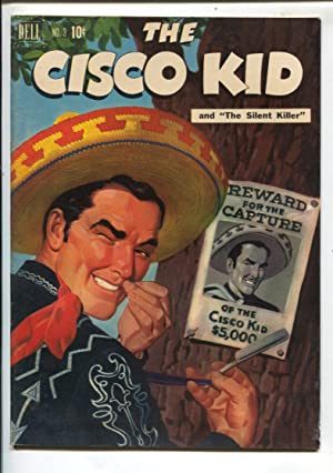 Cisco Kid #3 1951-Dell Robert Jenny art-painted cover-VG/FN