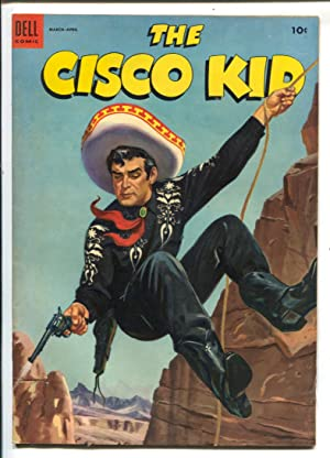 Cisco Kid #20 1954-Dell Robert Jenny art-painted cover-VG/FN