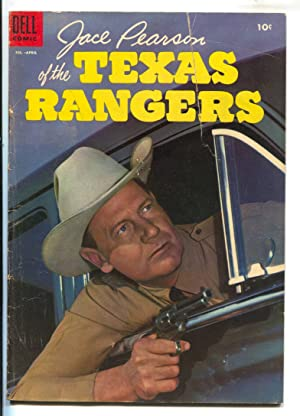 Jace Pearson of the Texas Rangers #9 1959- Joel McCRea photo cover-G/VG