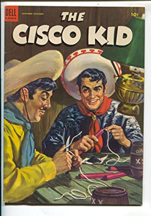 Cisco Kid #18 1953-Dell Robert Jenny art-painted cover-VG/FN