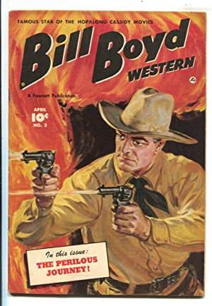 Bill Boyd Western #2 1950-Fawcett-star of Hopalong Cassidy movies-Norman Saunders cover-FN_