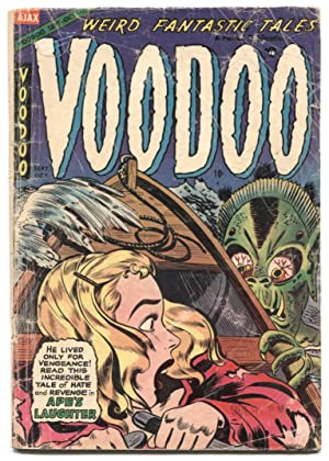VooDoo Comics #17 1954- golden age horror- G-