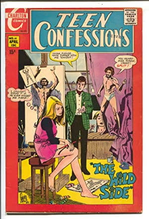 Teen Confessions #61 1970-Charlton-artist cover-love thrills & emotions-