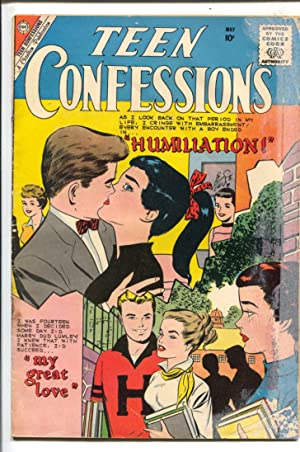 Teen Confessions #5 1960-Charlton-Joe Sinnott cover & story art-10¢ cover price-G-