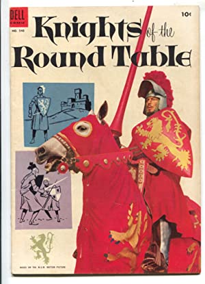 Knights of Round Table-Four Color Comics #540 1954-Dell-based on MGM movie-Robert Taylor photo co...