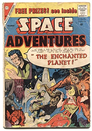 Space Adventures #31 1959-Charlton- Steve Ditko-Enchanted Planet- G