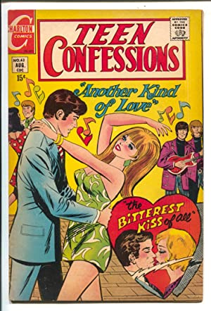 Teen Confessions #63 1970-Charlton-spicy cover art-love thrills & emotions-VG