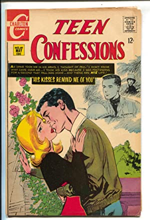Teen Confessions #49 1968-Charlton-romance issue-George Tuska art-swimsuit panels-12¢ cover pric...