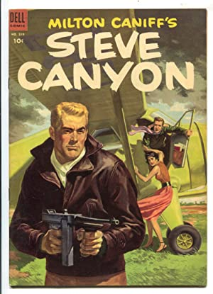 Steve Canyon-Four Color Comics #519 1953-Dell-1st issue-Milton Caniff-William Overgard-FN+